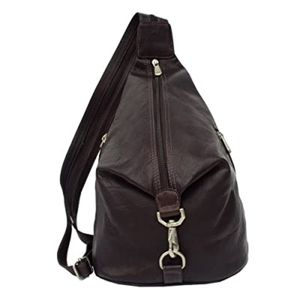 Piel Leather Convertible Slingback Backpack Bag